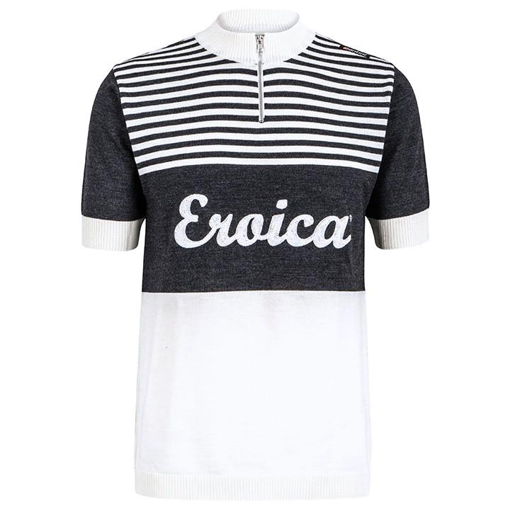 SANTINI shirt met korte mouwen Eroica Hispania fietsshirt met korte mouwen, voor