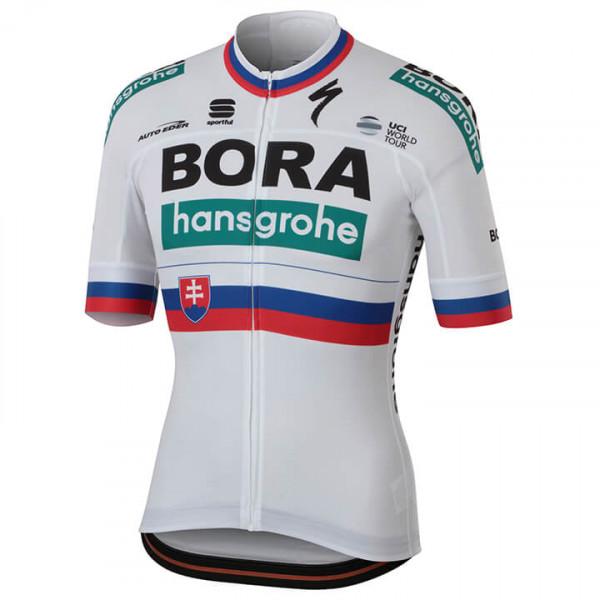 BORA-hansgrohe Slowaakse kampioen 2018 fietsshirt met korte mouwen