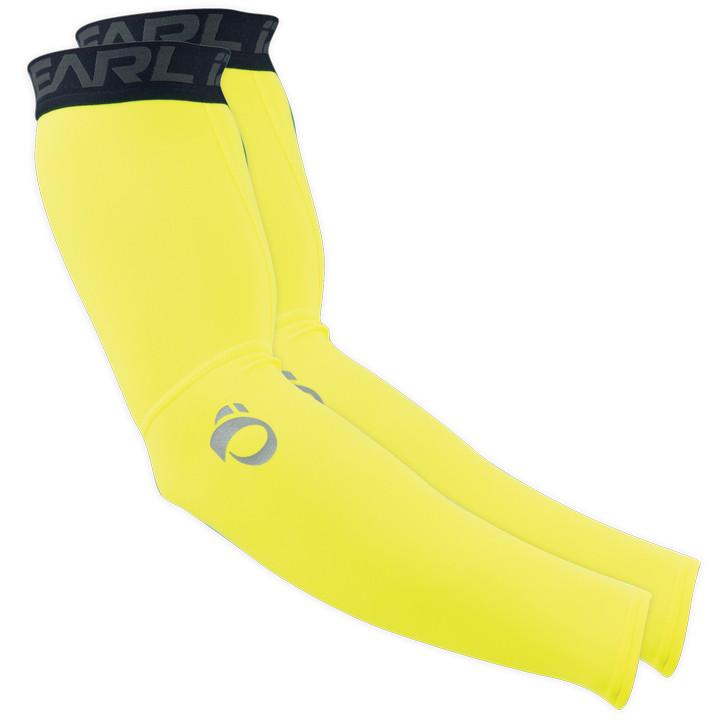 PEARL IZUMI Elite Thermal neon geel armstukken, voor heren, Maat XL, Armwarmer,