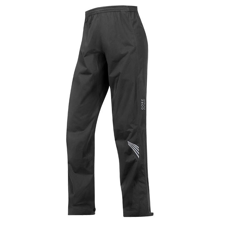 GORE Element GT AS, zwart regenbroek, voor heren, Maat 2XL, Fietsbroek, Regenkle