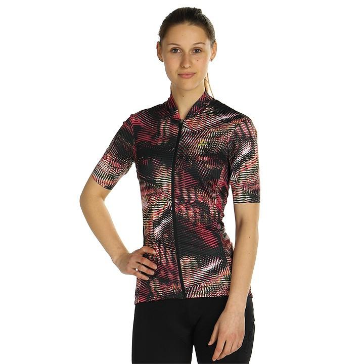 CRAFT Damesshirt Hale Graphic damesfietsshirt, Maat L, Fietsshirt, Fietskleding