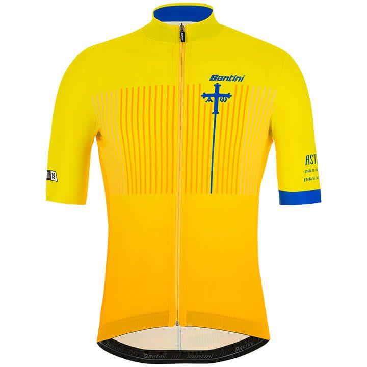 La Vuelta SANTUARIO DEL ACEBO 2019 fietsshirt met korte mouwen fietsshirt met ko