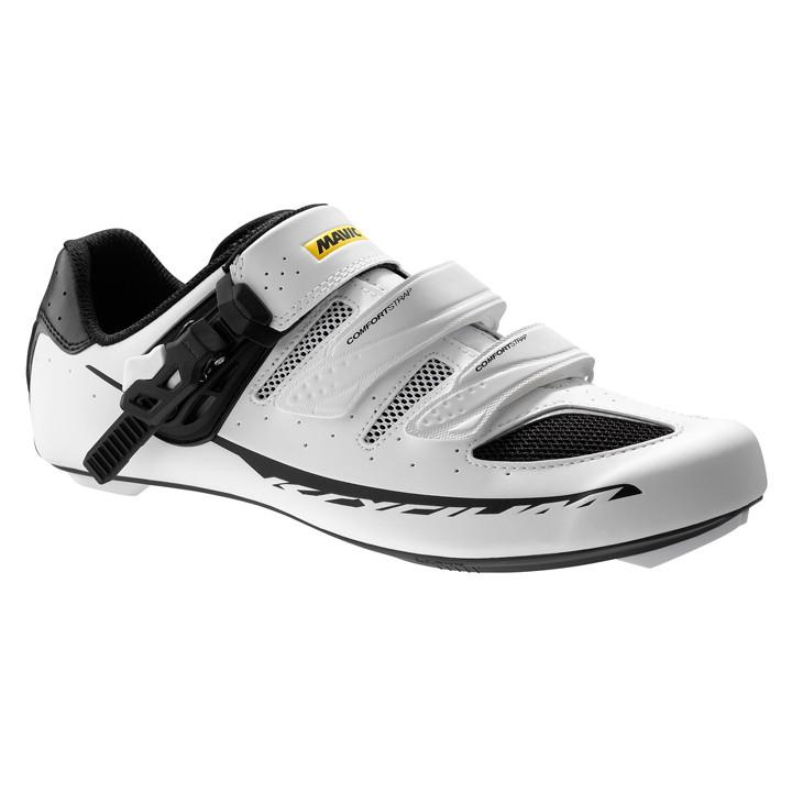 MAVIC Ksyrium Elite 2017 wit-zwart raceschoenen, voor heren, Maat 7,5, Racefiets