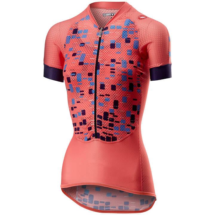 CASTELLI Damesshirt Climber's damesfietsshirt, Maat M, Wielershirt, Fietskleding