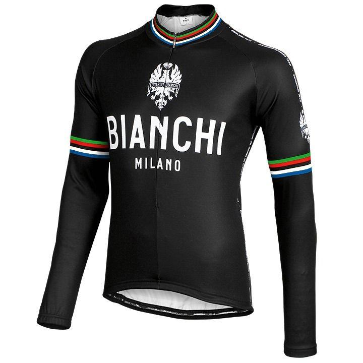 BIANCHI MILANO jersey met lange mouw Leggenda fietsshirt met lange mouwen, voor