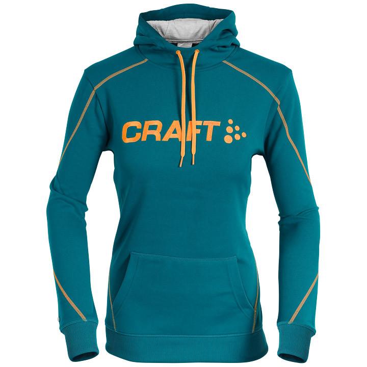 CRAFT Logo dames Hoody dameshoody, Maat S, MTB shirt, Mountainbike