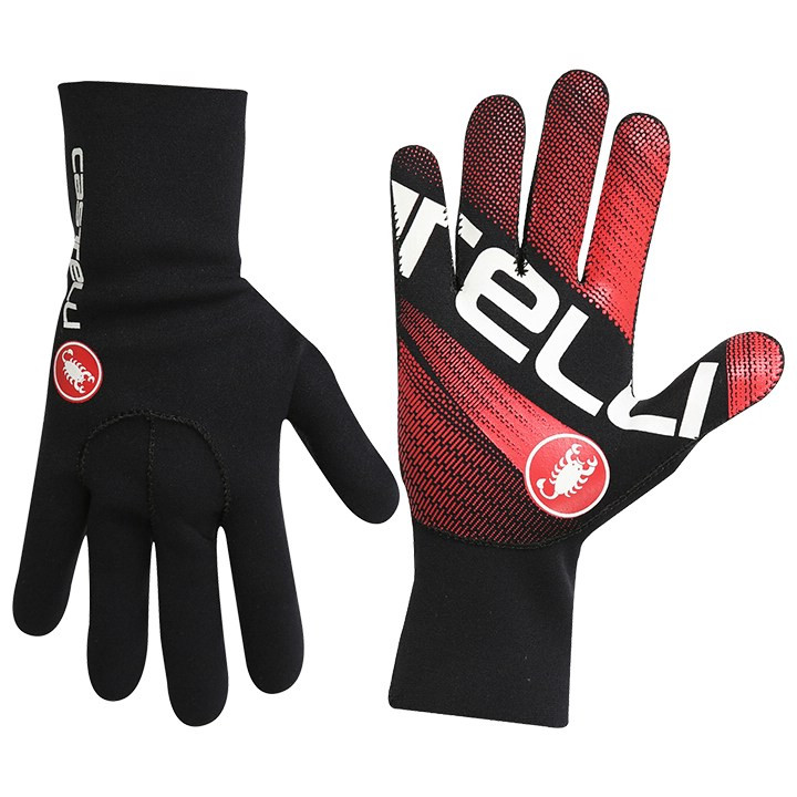 CASTELLI Diluvio Light handschoenen met lange vingers, voor heren, Maat 2XL, Fie