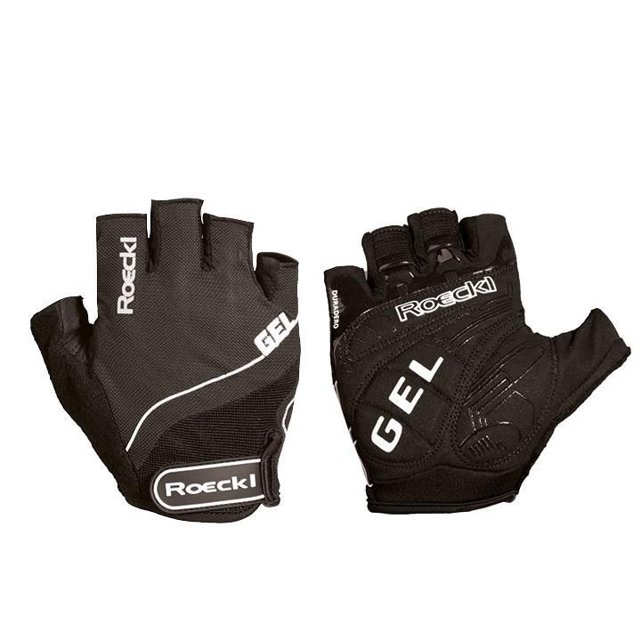 ROECKL Irving, zwart handschoenen, voor heren, Maat 7, Fietshandschoenen,