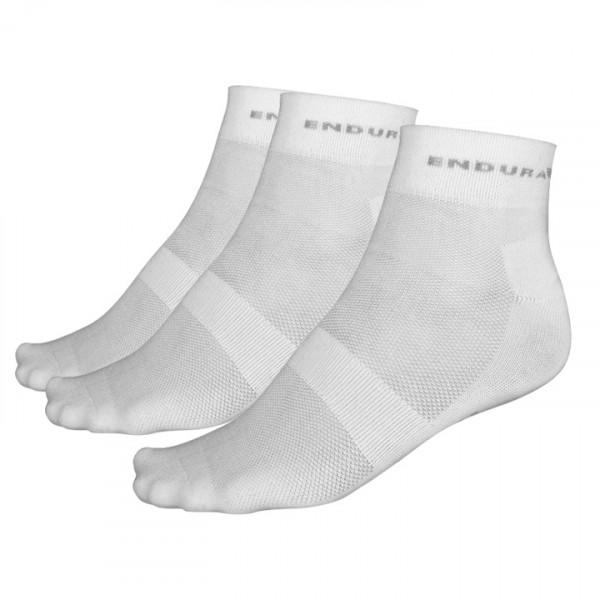 Chaussettes (pack de 3 paires) blanches