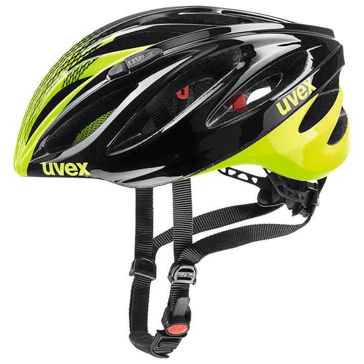 UVEX Race Boss Race 2019 fietshelm, Unisex (dames / heren), Maat M, Fietshelm,