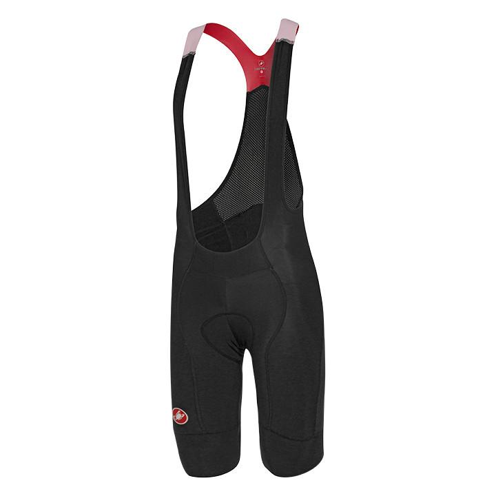 CASTELLI Omloop zwart-rood korte koersbroek, voor heren, Maat XL, Fietsbroek, Fi