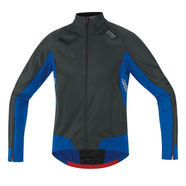GORE Xenon 2.0 SO, zwart-blauw Light Jacket, voor heren, Maat M, Fietsjas, Fiets