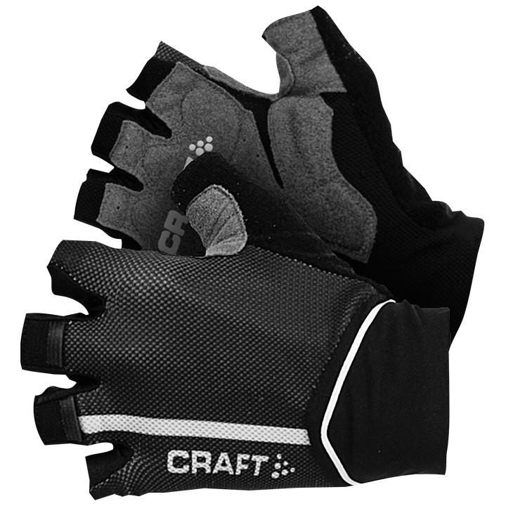CRAFT Puncheur zwart handschoenen, voor heren, Maat 2XL, Fietshandschoenen, Fiet