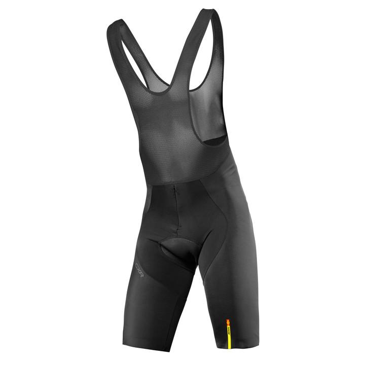 MAVIC korte broek met bretels CXR Ultimate zwart korte koersbroek, voor heren, M