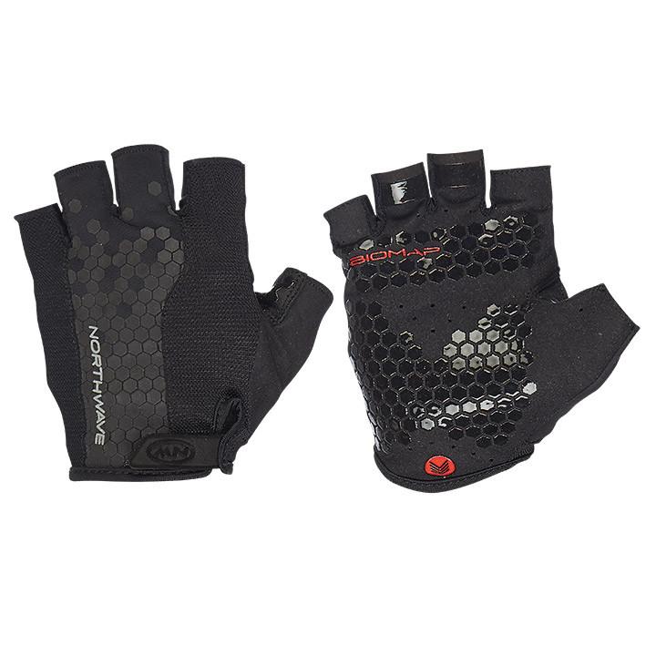 NORTHWAVE Grip zwart handschoenen, voor heren, Maat 2XL, Fietshandschoenen, Fiet