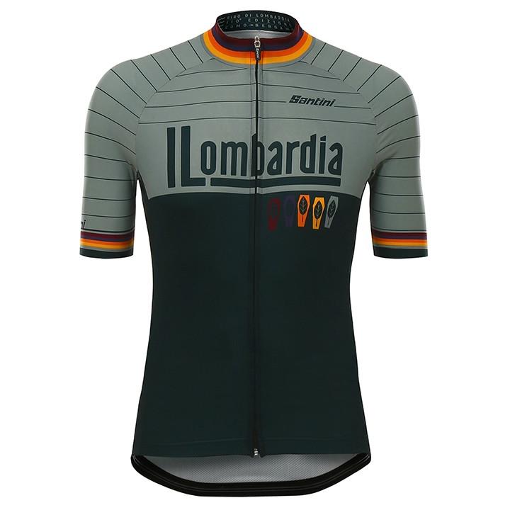 LOMBARDIA fietsshirt met korte mouwen fietsshirt met korte mouwen, voor heren, M