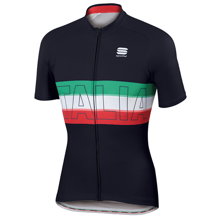 SPORTFUL shirt met korte mouwen Italia fietsshirt met korte mouwen, voor heren,