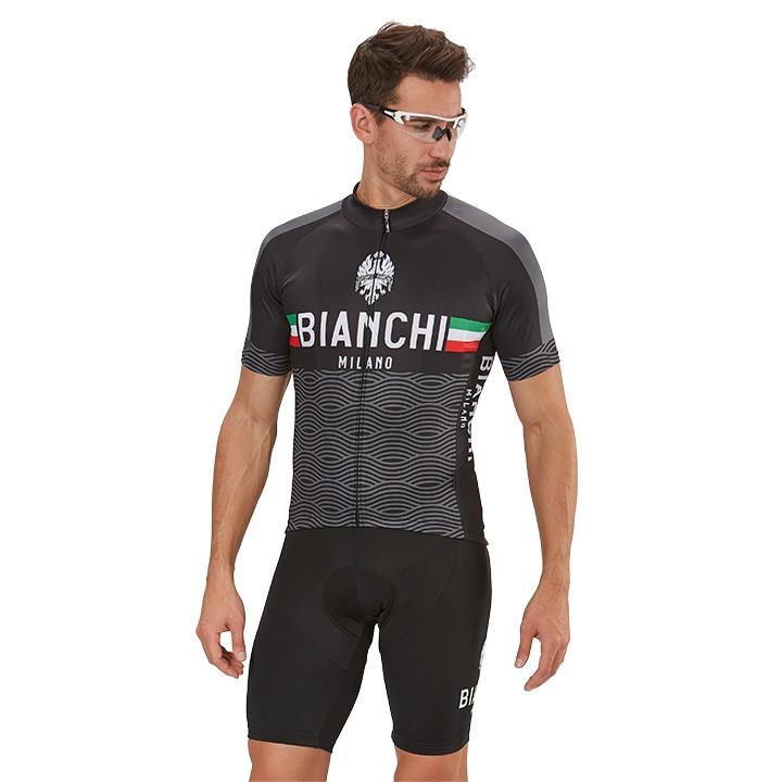BIANCHI MILANO Attone Set (fietsshirt + fietsbroek) set (2 artikelen), voor