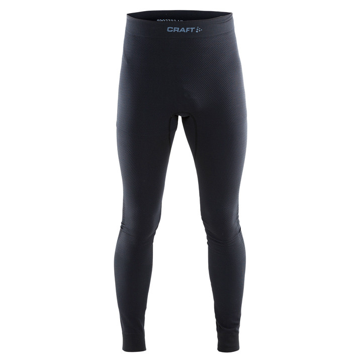 CRAFT lange fietsKeep Warm zwart onderbroek zonder zeem, voor heren, Maat S, Fie
