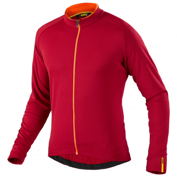 Maillot manches longues Aksium rouge