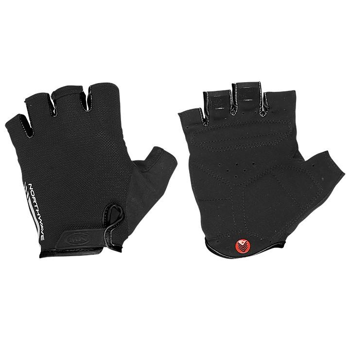 NORTHWAVE Jet zwart handschoenen, voor heren, Maat S, Fietshandschoenen,
