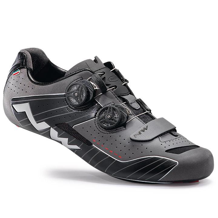 NORTHWAVE racefietsschoenen Extreme 2017 zwart reflecterend raceschoenen, voor h