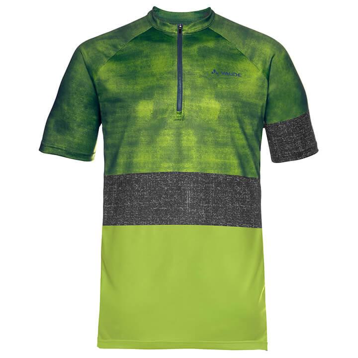 VAUDE Ligure bikeshirt, voor heren, Maat L, Fietsshirt,