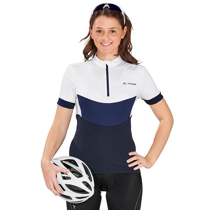 VAUDE dames shirt Advanced II damesfietsshirt, Maat 40, Wielren shirt, Fiets
