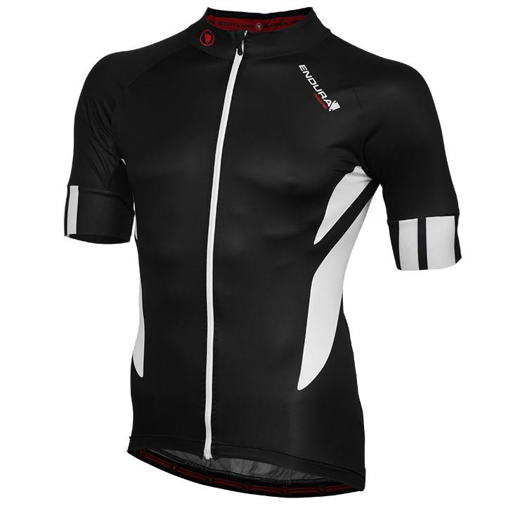 ENDURA PRO Jetstream, zwart fietsshirt met korte mouwen, voor heren, Maat 2XL, W