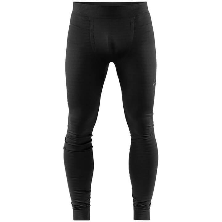 CRAFT Lange fietsonderbroek zonder zeem Warm Comfort, voor heren, Maat XL,