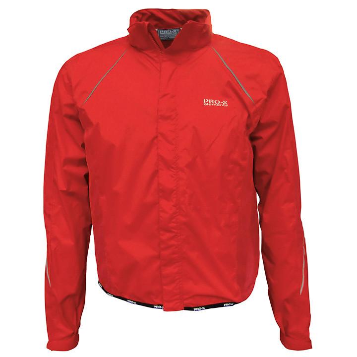 PRO-X Giro, rood regenjack, voor heren, Maat S, Regenjas, Regenkleding