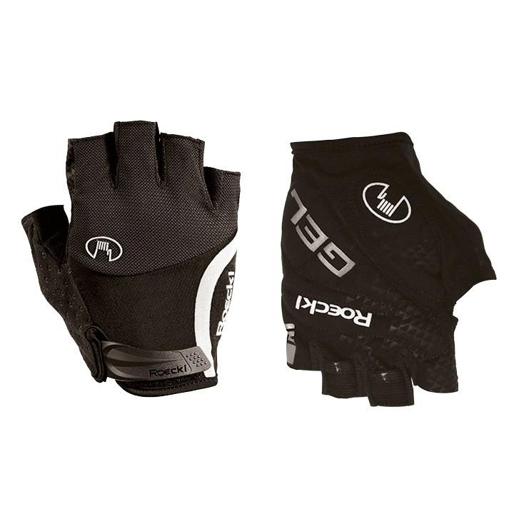 ROECKL fietsIolo, zwart handschoenen, voor heren, Maat 7, Fietshandschoenen,