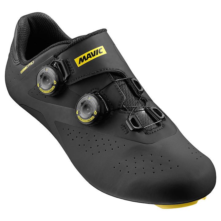 MAVIC racefietsschoenen Cosmic Pro 2017 zwart-geel raceschoenen, voor heren, Maa
