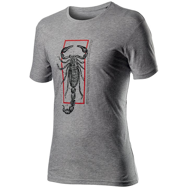 CASTELLI T-shirt Logo t-shirt, voor heren, Maat M, MTB shirt, Mountainbike kledi