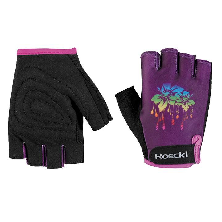 ROECKL Zenia lila kinderhandschoenen, Maat 6, Kinderfietshandschoenen, Kinder