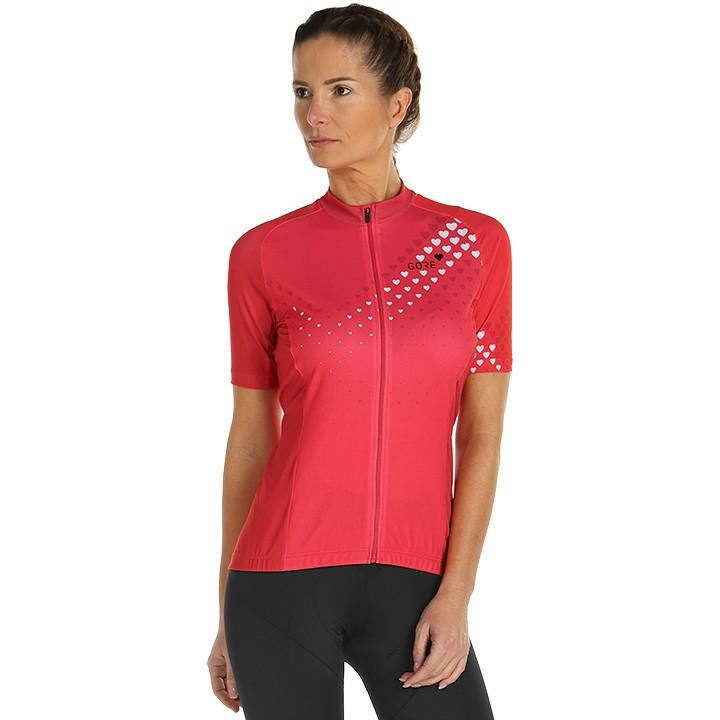 GORE Damesshirt C3 Heart damesfietsshirt, Maat 40, Wielren shirt, Fiets kleding