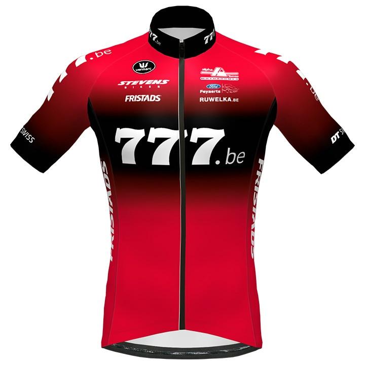 777.be 2020 fietsshirt met korte mouwen, voor heren, Maat S, Fietsshirt, Fietskl