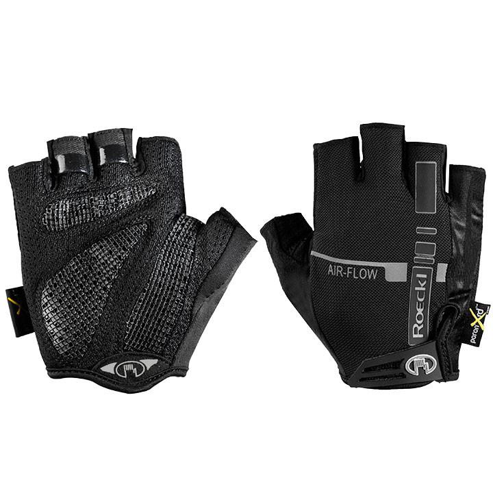 ROECKL Ikeda, zwart handschoenen, voor heren, Maat 9, Fiets handschoenen, Fietsk