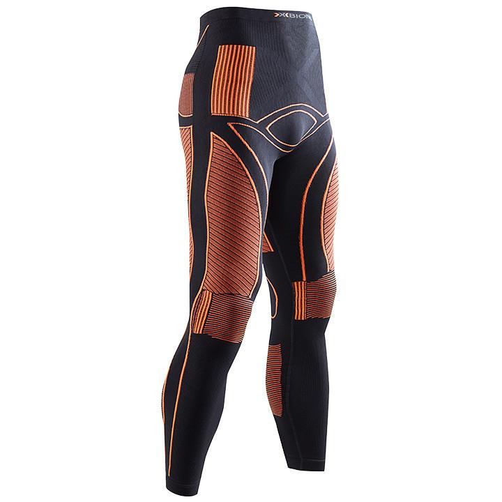 X-Bionic lange onderbroek Energy Accumulator zwart-oranje, voor heren, Maat 2XL,