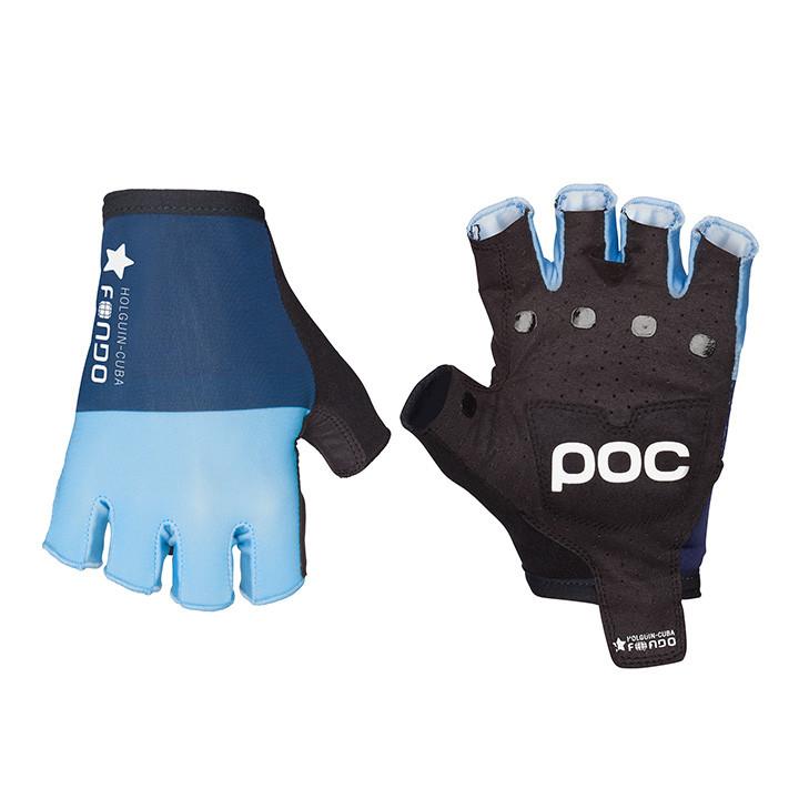POC fietsFondo blauw handschoenen, voor heren, Maat S, Fietshandschoenen, Fietsk