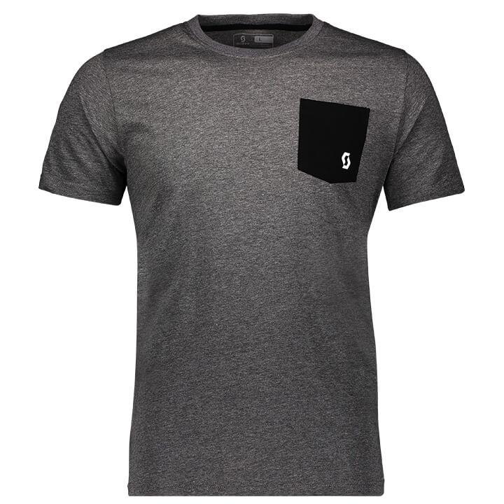 SCOTT T-shirt 10 Casual t-shirt, voor heren, Maat L, MTB shirt, Mountainbike