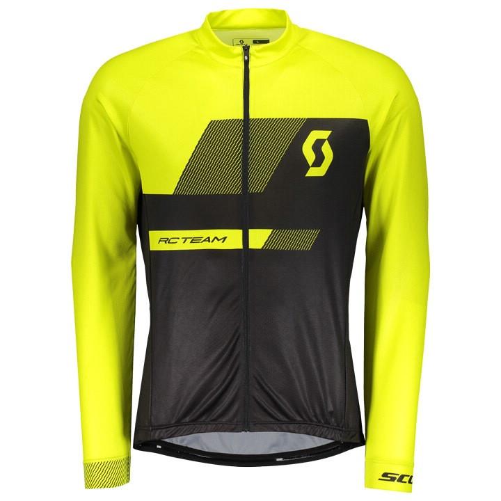 SCOTT Shirt met lange mouwen RC Team 10 fietsshirt met lange mouwen, voor heren,