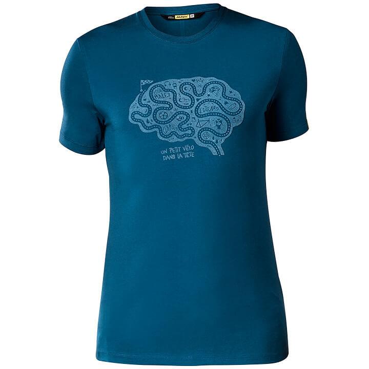 MAVIC T-shirt Cyclist Brain t-shirt, voor heren, Maat M, MTB shirt, Mountainbike
