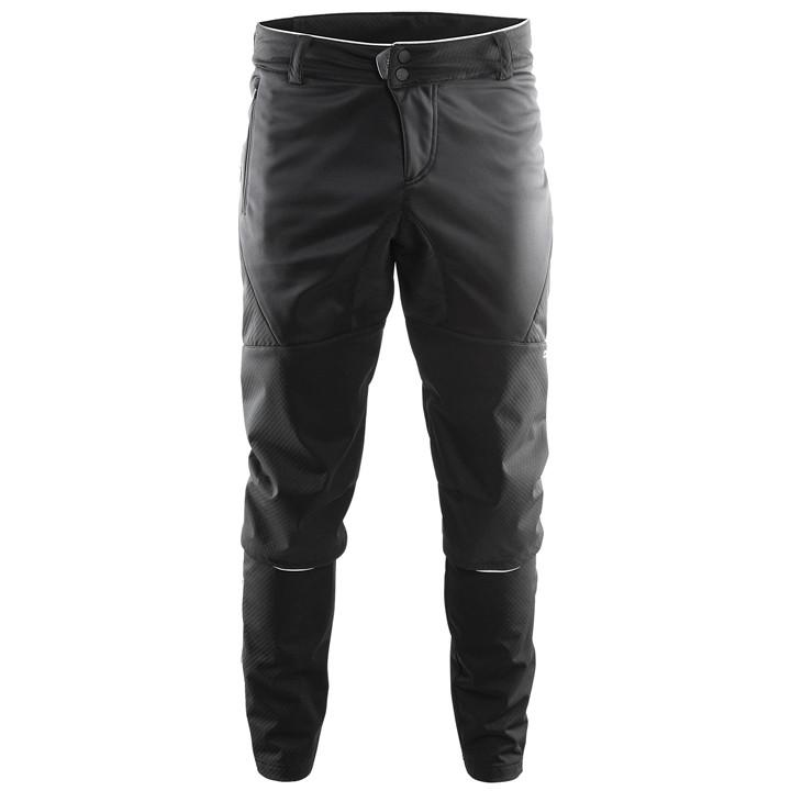 CRAFT zonder zeem X-Over zwart lange bikebroek, voor heren, Maat 2XL, Fietsbroek