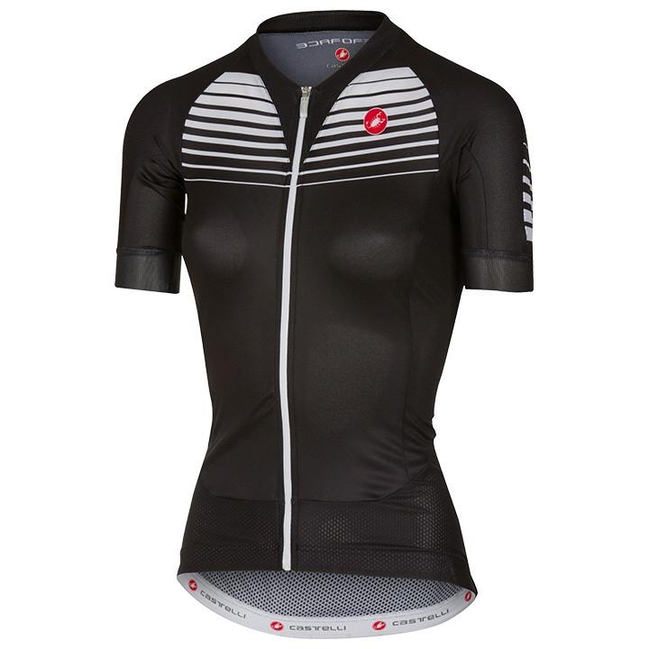 CASTELLI damesshirt Aero Race damesfietsshirt, Maat S, Fietsshirt,