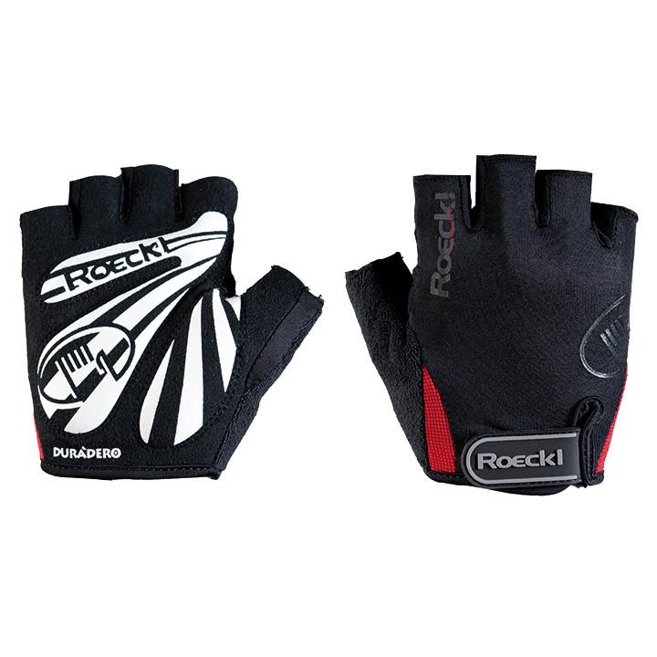 ROECKL Badia zwart-rood handschoenen, voor heren, Maat 11, Fiets handschoenen, W
