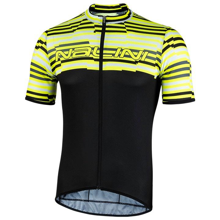 NALINI Fietsshirt Chamonix 1924 fietsshirt met korte mouwen, voor heren, Maat L,