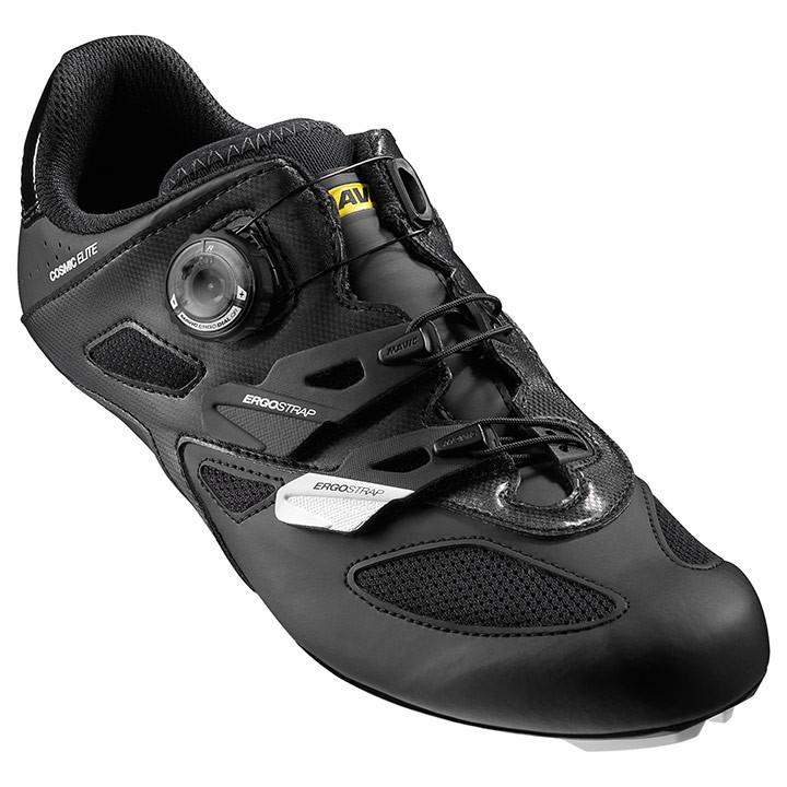 MAVIC racefietsschoenen Cosmic Elite wit-zwart raceschoenen, voor heren, Maat 8,