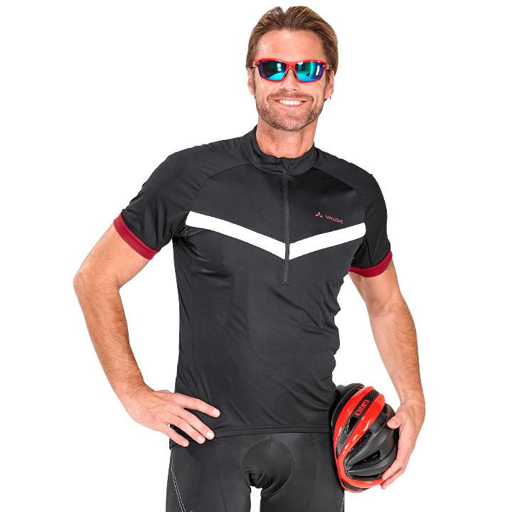 VAUDE fietsshirt Advanced II fietsshirt met korte mouwen, voor heren, Maat M,
