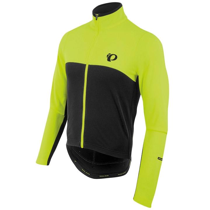 PEARL IZUMI shirt met lange mouwen Select Thermal neongeel-zwart fietsshirt met